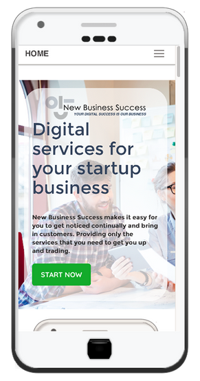 New Business success - Responsive, mobile friendly websites / 0121 396 1911